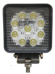 4055 Фара светодиодная CH006 27W 9 диодов по 3W (габаритные размеры 108*138*60мм)