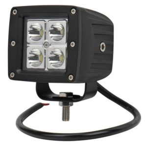 4959 Фара светодиодная 20W 4 диода по 5W (габаритные размеры 75 82 90мм)