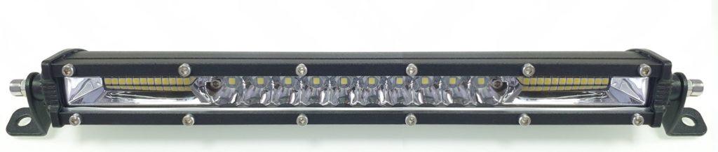 Фара светодиодная 102W 10 по 3W+72 по 1W габаритные размеры 43*35*970 мм