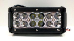 4947 Фара светодиодная 36W 12 диодов по 3W (габаритные размеры 65*80*165мм)дальний свет
