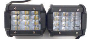4958 Фара светодиодная 18W 6D 6 диодов по 3W (габаритные размеры 65*80*96мм)