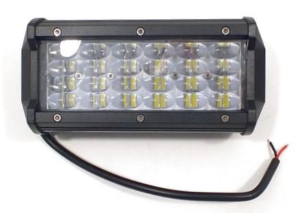 5835 Фара светодиодная 36W 6D 12 диодов по 3W (габаритные размеры 65*80*165мм)