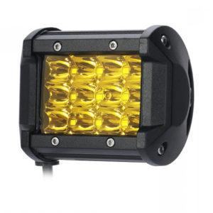 5033 Фара светодиодная 36W (дальний свет) желтая